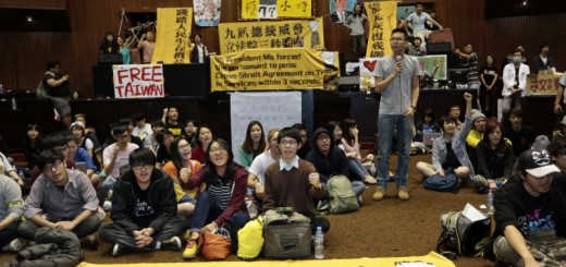 Taiwan Students Occupy Parliament Over China Trade Deal